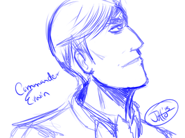 Commander Erwin Smith by jutto