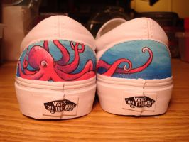 Backs of Under the Sea Shoes by shotgunopera