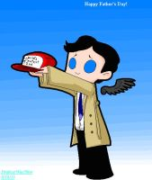 Happy Father's Day, from Castiel by Strabius