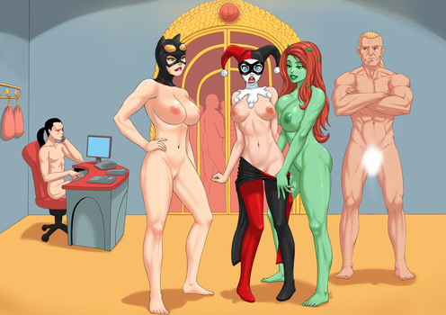 Gotham City Hedonist Society by Flick-the-Thief