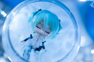 Teaser - Ice Queen Miku by KuroDot