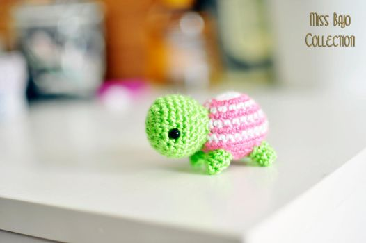 Pinki Tortoise by MissBajoCollection