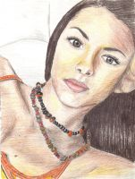 Pencil Crayon Girl by lettym