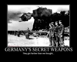 Germany's Secret Weapons by PanzerschreckLeopard