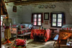 Old Room, two by mariustipa
