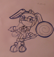 Candy the rabbit by RaisytheDrummer