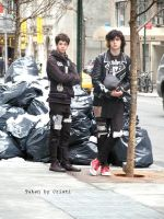 Punks in Manhattan by lostxtradgedy
