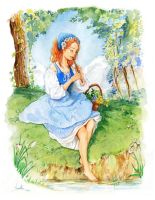 The Tin Whistle Girl by Vassantha
