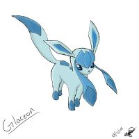 Glaceon by Popokino