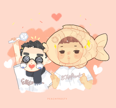 [Kaisoo] Serving iconic looks by Lolibeat