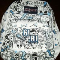 Custom Jansport Backpack for Riley by Cheetahclub84