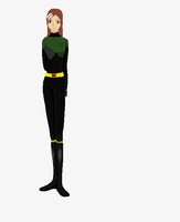 my Ann Marie/Rogue uniform by art-is-my-bream