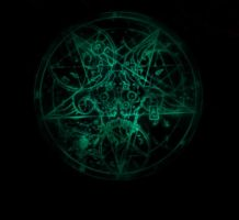 Blue Pentagram by forgot-to-be-human2
