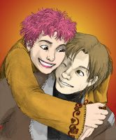 Lupin+Tonks by jameson9101322 by Neosun7