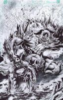 Man of Steel X Doomsday by emilcabaltierra