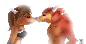 :AT: - Woltin x Wolfgang by Venus-Dragoness