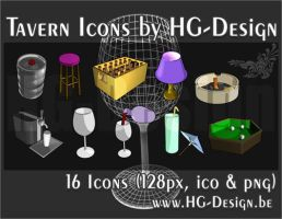 Tavern Icons by HG-Design