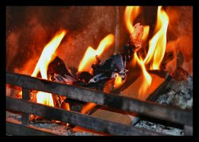 Fire place by simoner