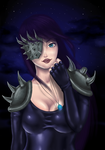 Nyx, the nightbringer by Wily-Flame
