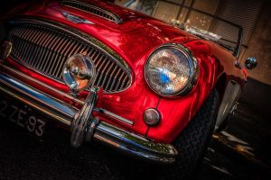 Austin Healey 3000 MKII detail by subversif