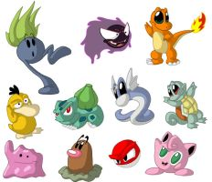 Pokemon by Duckboy
