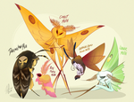 Moths by VivzMind