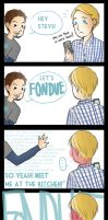 Fondue by bluehippopo