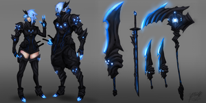 Legion Rogue Set by mechaprime-00