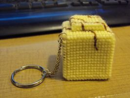 French fancy keyring prototype by Alondra-chui