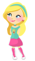 Barbie girl PNG pedido by AAbiTutoriales