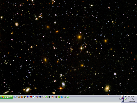 Hubble Ultra Deep Field by brynderoy