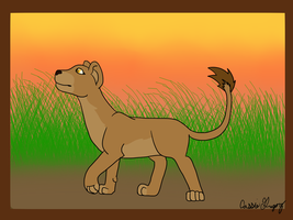 Lion Smilodoncat by The-Smile-Giver