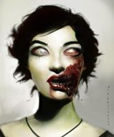 zombieswantportraittoo by NikYeliseyev