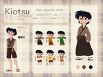 KIOTSU Character Reference and Biography by NattiKay
