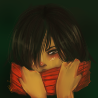 Mikasa by curiousSOUL
