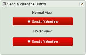 Send a Valentine Button by DreamON-Mpak