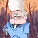 Lil' Gideon gravity falls fan art by SemajZ