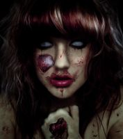 zombie girl by Kling-Clang