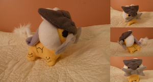 Raikou plush by Plush-Lore
