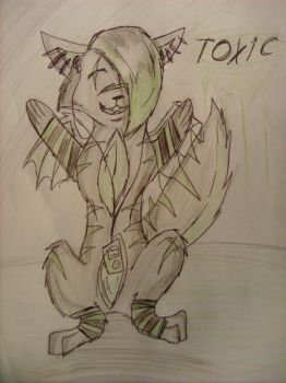 Toxic the wolf by Toxic1776