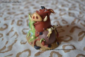 Timon and Pumbaa Figure - TLK by MoondragonEismond