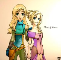 Triana and Sauda by KatiraMoon