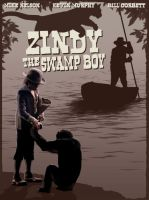 Zindy the Swamp Boy by martianink
