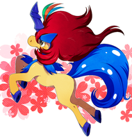 Keldeo Resolution by LadyMurkrow