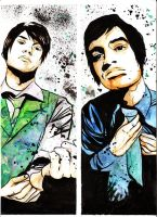 PATD Bden Urie and Ryan Ross by bunnyluz