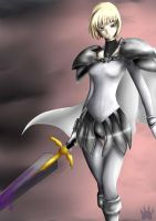 The Claymore Warrior by l3lue-Kat