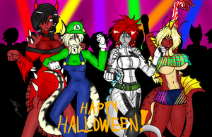 Halloween Party! by DarkSora501