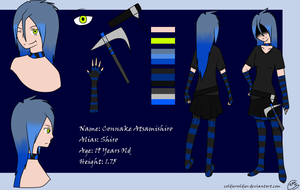 Connake Atsamishiro Reference Sheet by ColdierSoldier