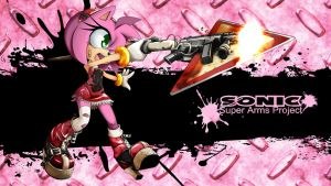 SonicSuperArmsProject Amy Rose by skyshek