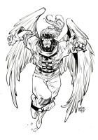 Age Of Apocalypse - angel by rogercruz